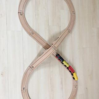 イケア 木製レール おもちゃ
