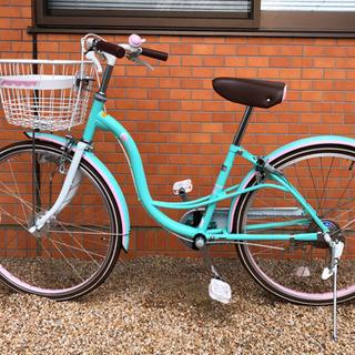 ☆女の子自転車24インチ☆値下げ交渉OK