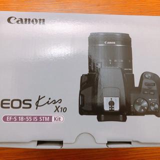 【新品未使用】Canon kissx10 一眼レフカメラ
