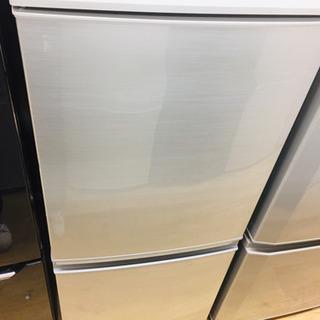 安心の1年返金保証!SHARPの2ドア冷蔵庫です!!