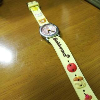 リラックマの時計