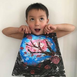 [親子英語] 外国人アーティストと英語でアート (オンライン)