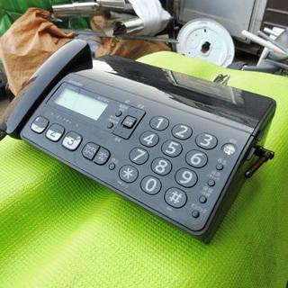 A090 シャープ コードレス FAX デジタル 黒 UX-D20CL