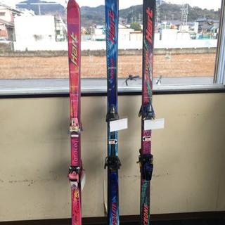 【最終価格】スノーグッズ[ジャンク]スキー板/スキーブーツ/スノ...