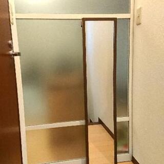 ドア掛け姿見(鏡)かがみ