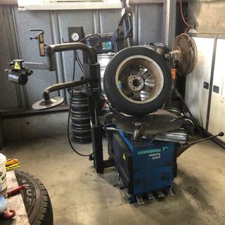 持ち込みタイヤ組み替えします、自動車車検代行