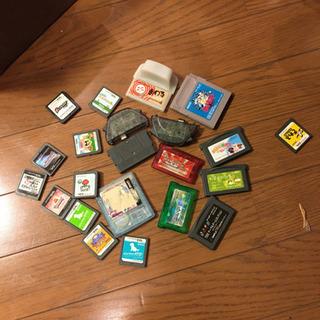 ゲームカセットまとめ売り
