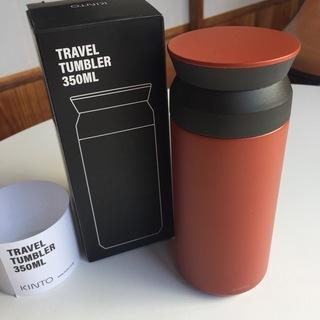 KINTO 350ml  タンブラー レッド 箱付き 未使用品 (水筒