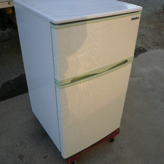 エラヴィタックス ER-107HG 2ドア冷凍冷蔵庫 96…