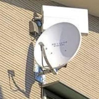 テレビアンテナ設置・撤去、メンテナンス、再接続の工事を致します。