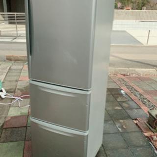 冷蔵庫 370L 2011年製 NR-C370M-S Panas...