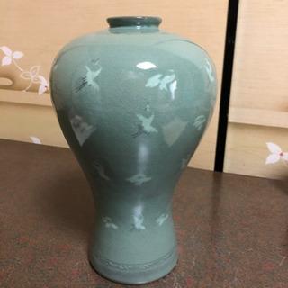 高麗青磁 清光 花瓶
