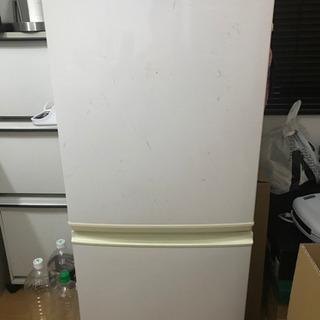 シャープ 一人暮らし向け冷蔵庫 SJ-714-W