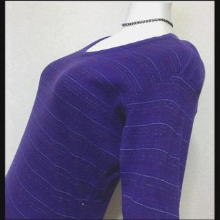 めーたん様[Horizun Dream]きらきらカットソー 紫色...