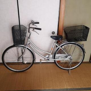 主婦用自転車(26インチ)