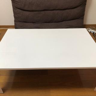 【取引完了】ニトリ白テーブル ¥0