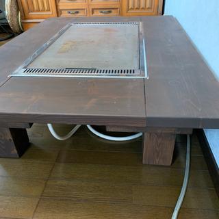 鉄板テーブル - 家具