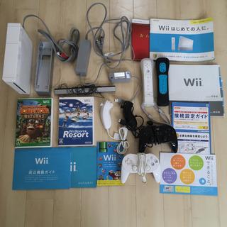 Wii本体 周辺機器 ソフト セット