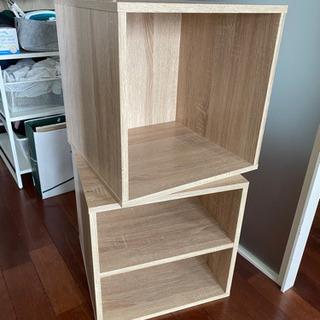 木製ボックス2個セット