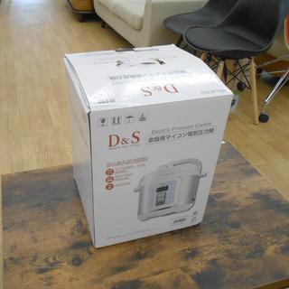 未使用 D&S 家庭用マイコン電気圧力鍋 STL-EC50 4....