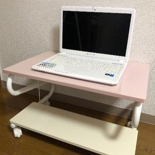 ピンク*パソコン台