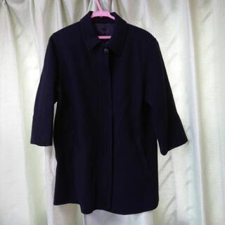 婦人コート 黒 Mサイズ