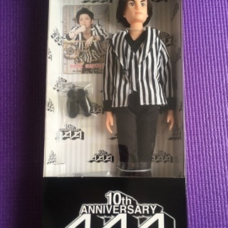 AAA 10th Anniversary special doll