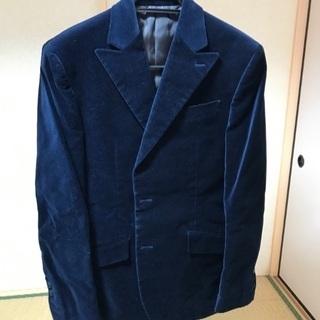 ベロア素材のジャケット(メンズ)