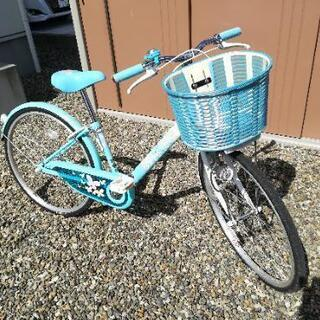 24インチ自転車(女の子用)ブリヂストンサイクル