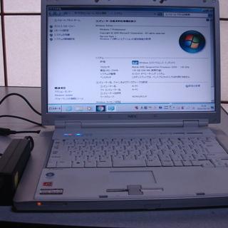 NECノートパソコン【PC-LL550HG・windows7】