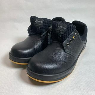 【苫小牧バナナ】Simon/シモン 安全靴 WS11黒 静電靴 ...