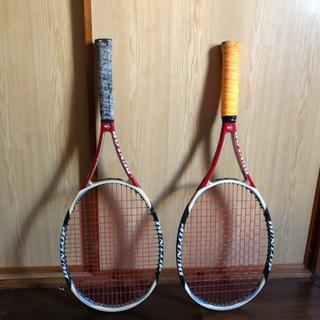 硬式テニスラケット 2本セット/1本も可能