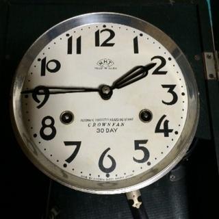 柱時計です。