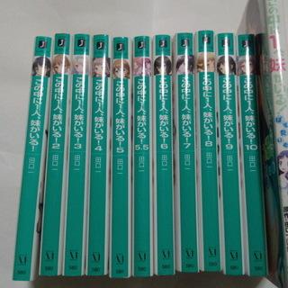 小説 ラノベ&コミック この中に1人、妹がいる! 12巻 セット