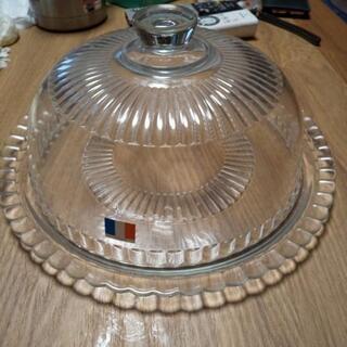 ケーキのガラス器