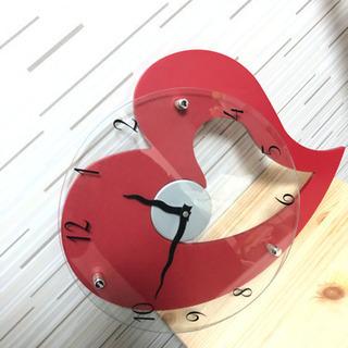 【決まりました】ハート型の掛け時計【締切3月25日まで】