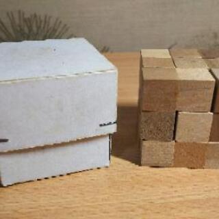 木の立体パズル☆小学生向け☆70パターン☆