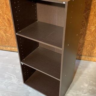 カラーボックス 3段 棚の高さ変えれます