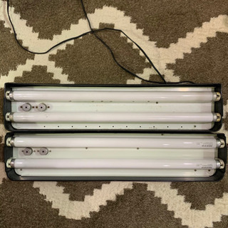 ニッソー 水槽用ライト 60cm用 ×2