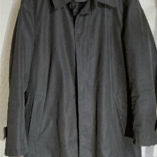 AOKI・アオキ 黒 ステンカラーコート