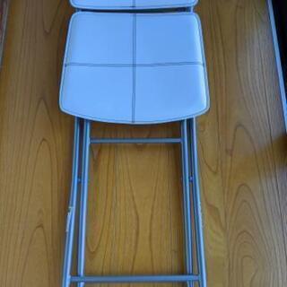 折りたたみ椅子 2脚