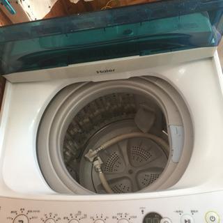 4.5kg ハイアール洗濯機 2017年製