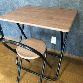 折りたたみテーブル・椅子セット