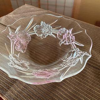 ガラス皿*美品