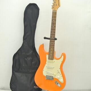 SELDER エレキギター オレンジ 音出し確認済み♪