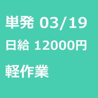 【急募】 03月19日/単発/日払い/鎌ケ谷市:未経験大歓迎!サ...