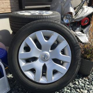 日産ジューク純正タイヤホイール4本セット