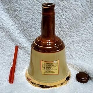 ★★空き瓶のみ!!45年くらい前「BELL'S(ベル)」スコッチウイスキー・インテリアなどに★★ - 生活雑貨