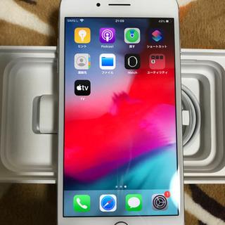 ✴️極美品 iPhone7Plus SILVER SIMフリー