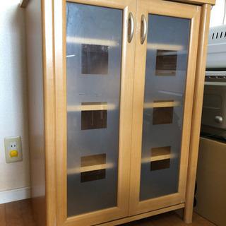 食器棚(1人〜2人暮らしサイズ)お譲りします!